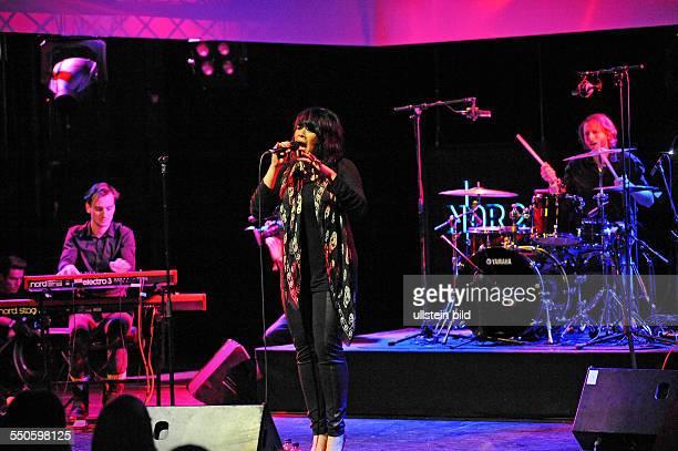 Alex Hepburn bei einem Konzert waehrend des NDR 2 Soundcheck Neue Musik Festivals vom bis in Goettingen