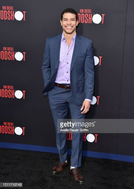 Alex Hernandez attends the premiere of Sony Pictures' Bloodshot on March 10 2020 in Los Angeles California