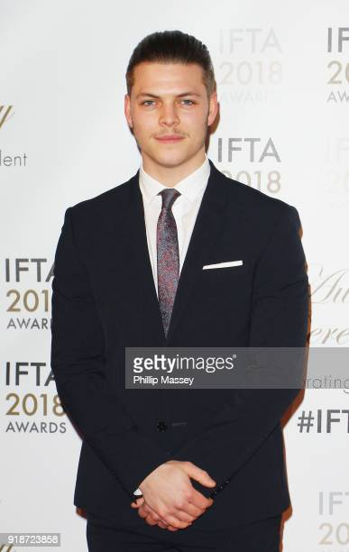 Alex Høgh Andersen attends the 'IFTA Film Drama Awards' at Mansion House on February 15 2018 in Dublin Ireland