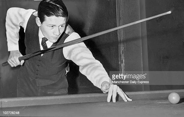 Alex Higgins snooker player, 1968.