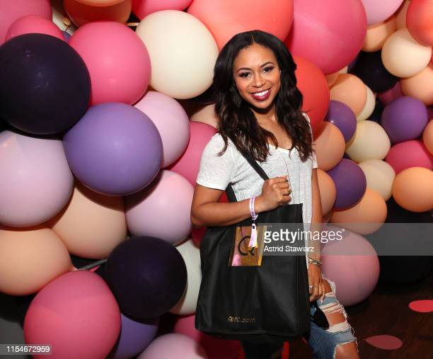 Alex Holley attends as QVC presents Beauty Bash at The Fillmore Philadelphia on June 08 2019 in Philadelphia Pennsylvania