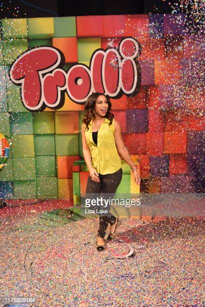PHILADELPHIA PENNSYLVANIA SEPTEMBER 19 Alex Holley Fox29 Cohost anchor attends the Candytopia Philadelphia VIP Preview Event at The Fashion District...