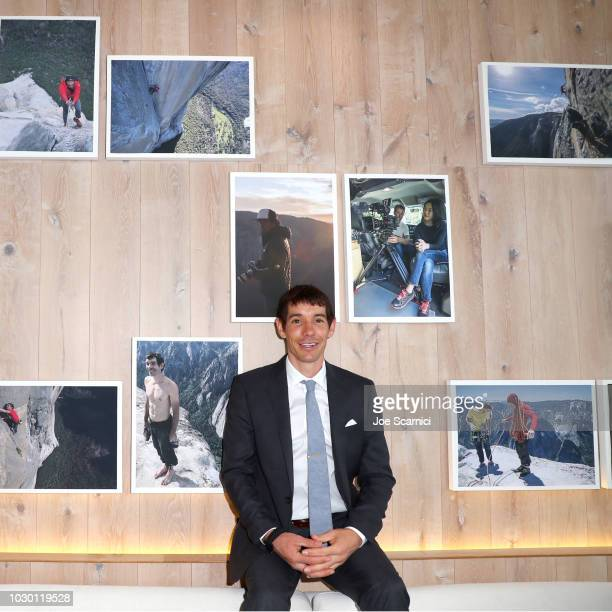 "Alex Honnold at the 2018 Toronto Film Festival Premiere of National Geographic Documentary Films' ""Free Solo"""