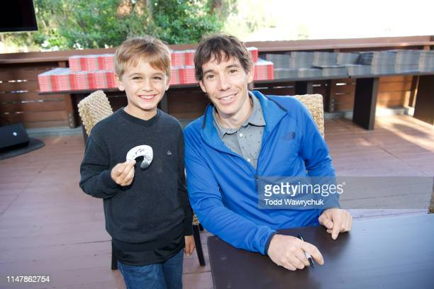 Alex Honnold attends National Geographics Contenders Showcase at The Greek Theatre a oneofakind outdoor experience and concert celebrating the talent...