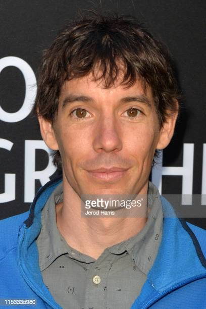 Alex Honnold attends National Geographic's Contenders Showcase at The Greek Theatre on June 02 2019 in Los Angeles California