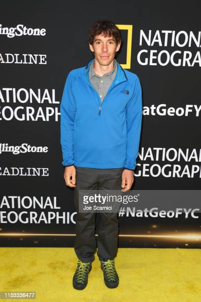 Alex Honnold attends National Geographic's Contenders Showcase at The Greek Theatre a oneofakind outdoor experience and concert celebrating the...