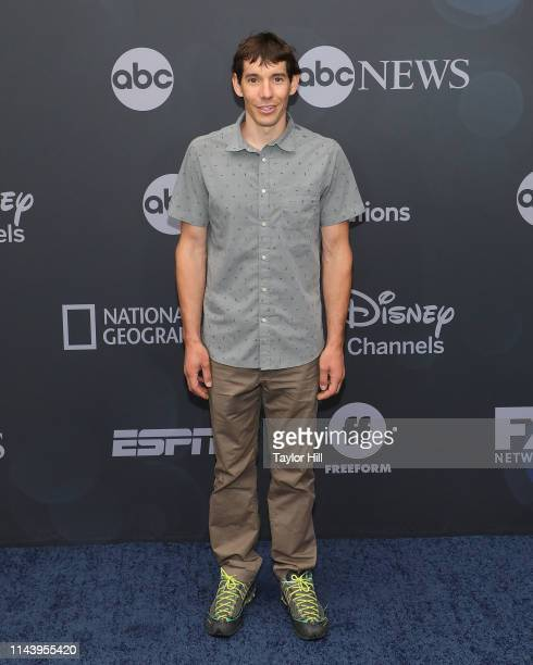 Alex Honnold attends the 2019 ABC Walt Disney Television Upfront at Tavern on the Green on May 14 2019 in New York City