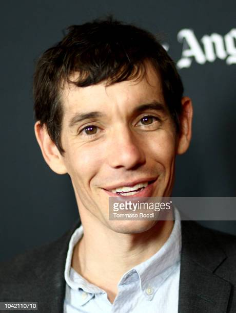 Alex Honnold attends the LA Film Festival gala screening of National Geographic Documentary Films 'Free Solo' at the Wallis Annenberg Center for the...