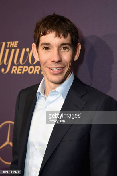 Alex Honnold attends The Hollywood Reporter's 7th Annual Nominees Night presented by MercedesBenz Century Plaza Residences and Heineken USA at CUT on...