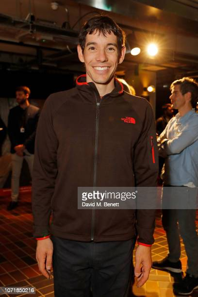 Alex Honnold attends the National Geographic Documentary Films London Premiere of Free Solo Party at BFI Southbank on December 11 2018 in London...