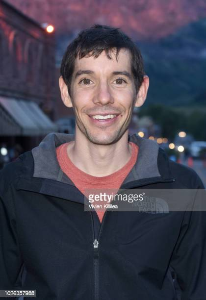 Alex Honnold attends the Telluride Film Festival 2018 on September 2 2018 in Telluride Colorado