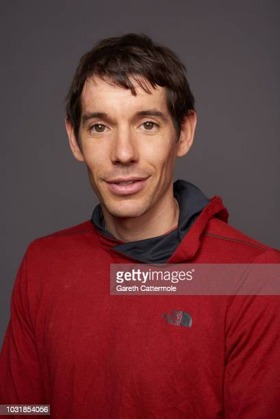Alex Honnold from the film 'Free Solo' poses for a portrait during the 2018 Toronto International Film Festival at Intercontinental Hotel on...