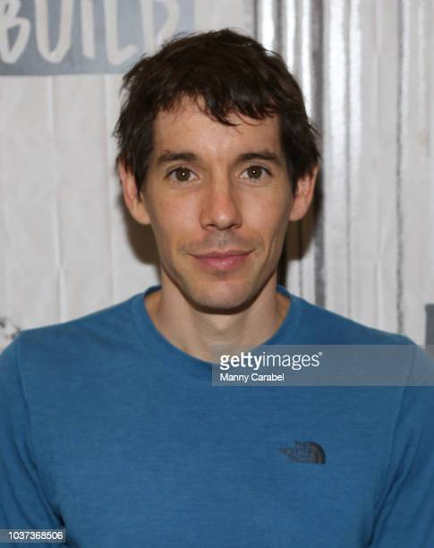 Alex Honnold visits Build Series to discuss the documentary Free Solo at Build Studio on September 21 2018 in New York City