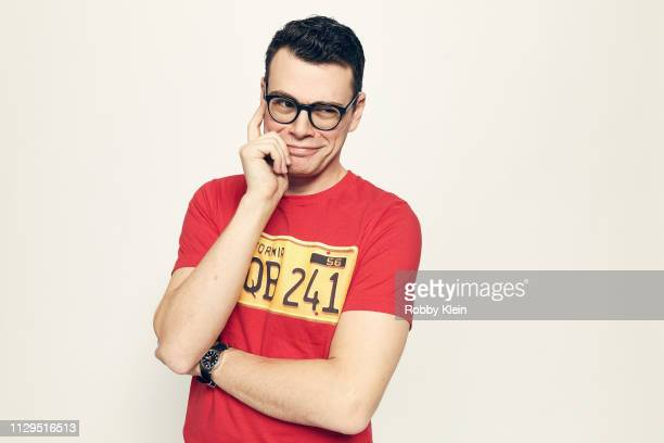Alex Horwitz of the film 'Autonomy' poses for a portrait at the 2019 SXSW Film Festival Portrait Studio on March 9 2019 in Austin Texas