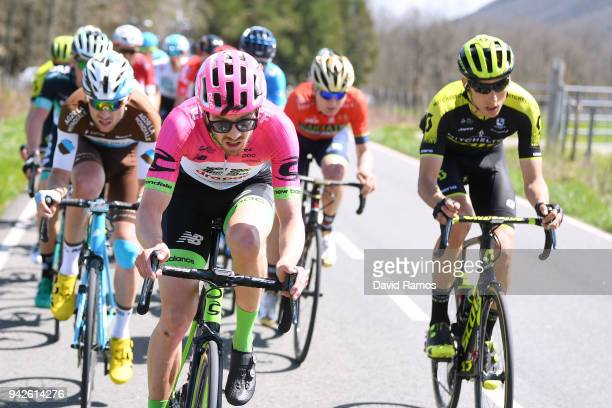 Alex Howes of The United States and Team EF Education FirstDrapac p/b Cannondale / Carlos Verona Quintanilla of Spain and Team MitcheltonScott /...