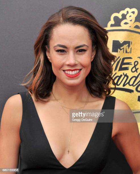 Alex Hudgens arrives at the 2017 MTV Movie And TV Awards at The Shrine Auditorium on May 7 2017 in Los Angeles California