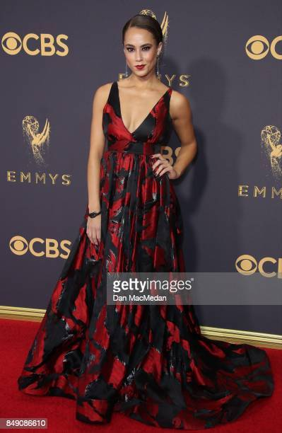 Alex Hudgens arrives at the 69th Annual Primetime Emmy Awards at Microsoft Theater on September 17 2017 in Los Angeles California