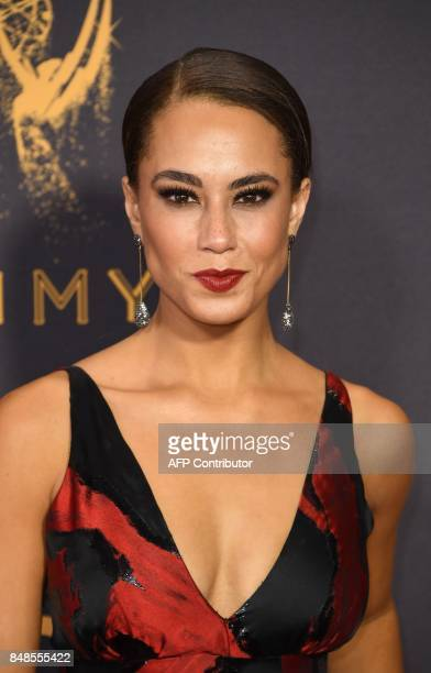 Alex Hudgens arrives for the 69th Emmy Awards at the Microsoft Theatre on September 17 2017 in Los Angeles California / AFP PHOTO / Mark RALSTON