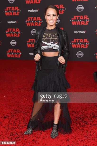 Alex Hudgens attends Premiere Of Disney Pictures And Lucasfilm's 'Star Wars The Last Jedi' Arrivals at The Shrine Auditorium on December 9 2017 in...