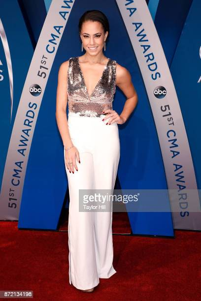 Alex Hudgens attends the 51st annual CMA Awards at the Bridgestone Arena on November 8 2017 in Nashville Tennessee