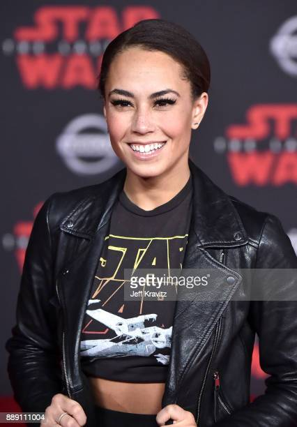 Alex Hudgens attends the premiere of Disney Pictures and Lucasfilm's 'Star Wars The Last Jedi' at The Shrine Auditorium on December 9 2017 in Los...