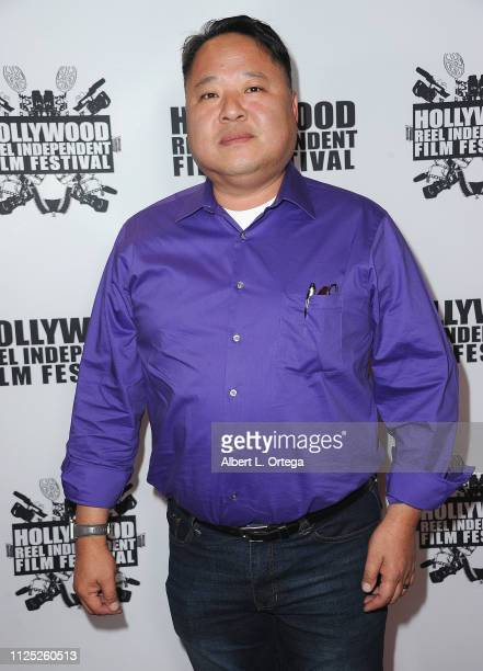 Alex Hwang arrives for The 2019 Hollywood Reel Independent Film Festival held at Regal LA Live Stadium 14 on February 15 2019 in Los Angeles...