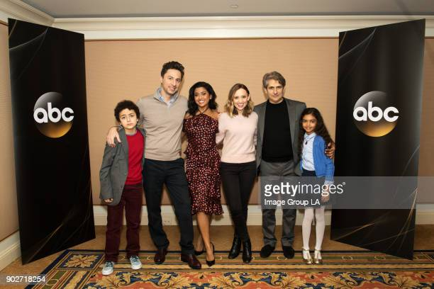 TOUR 2018 'Alex Inc' Session The cast and executive producers of 'Alex Inc' addressed the press at Disney | ABC Television Group's Winter Press Tour...