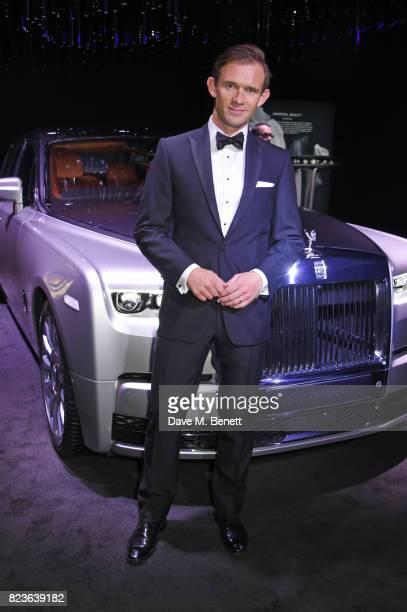 Alex Innes, Rolls-Royce Motor Cars Bespoke Designer, attends the global debut of the new Rolls-Royce Phantom at Bonhams on July 27, 2017 in London,...
