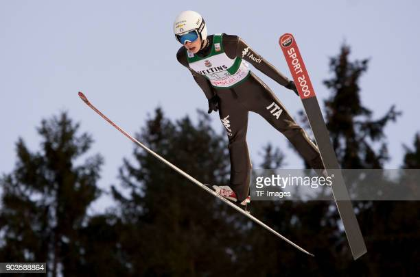Alex Insam of Italy competes during the FIS Ski Jumping World Cup on December 09 2017 in TitiseeNeustadt Germany