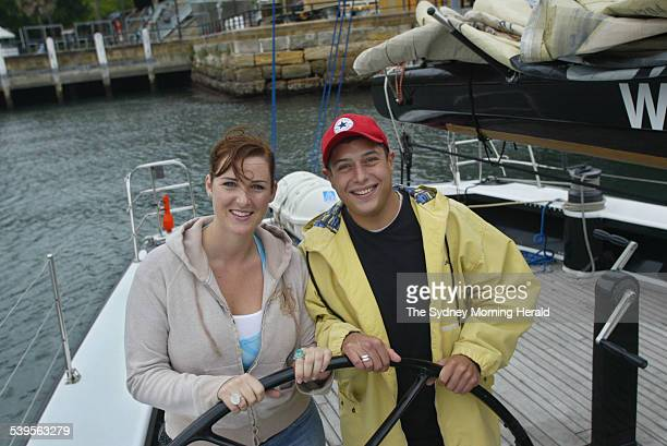Alex Ippolito and Jennifer Moylan on their date 8 May 2005 SMH Picture by FIONA MORRIS