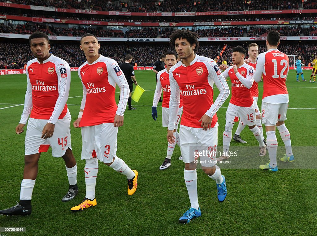 Arsenal v Burnley - The Emirates FA Cup Fourth Round : News Photo