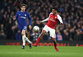london england alex iwobi arsenal during