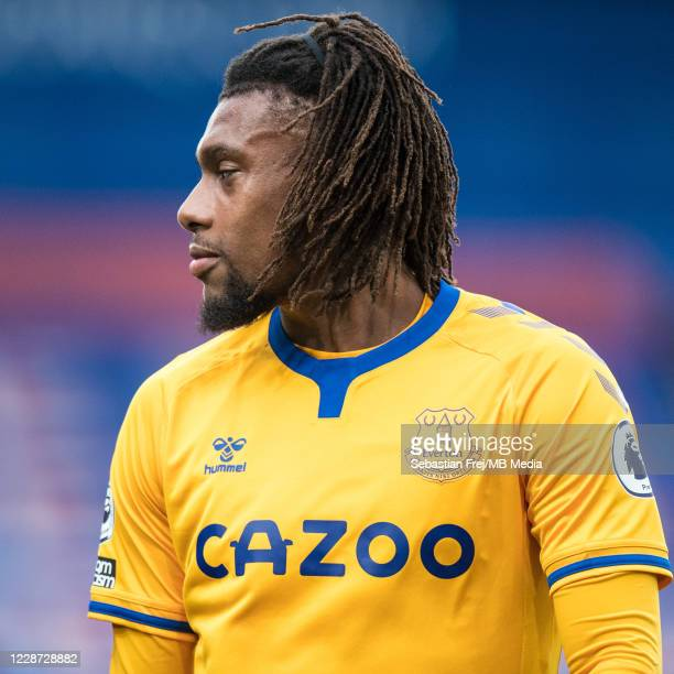 Alex Iwobi of Everton during the Premier League match between Crystal Palace and Everton at Selhurst Park on September 26 2020 in London United...