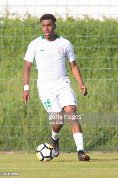 Alex Iwobi of Nigeria during the soccer friendly match between Nigeria and Togo on June 1 2017 in St LeulaForet France