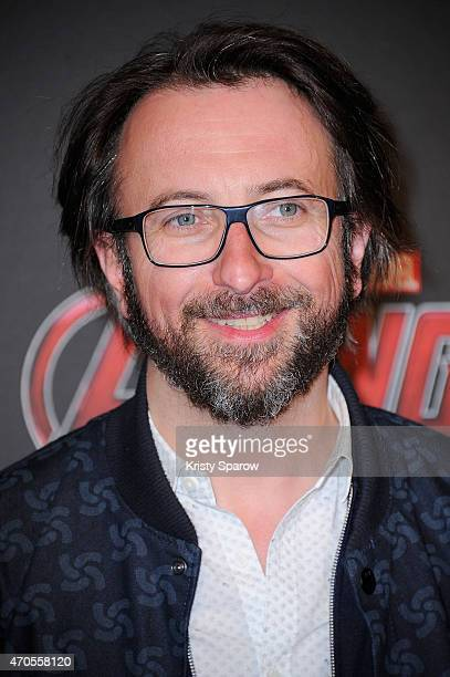 Alex Jaffray attends the 'Avengers L'Ere D'Ultron' Paris Premiere at Cinema UGC Normandie on April 21 2015 in Paris France