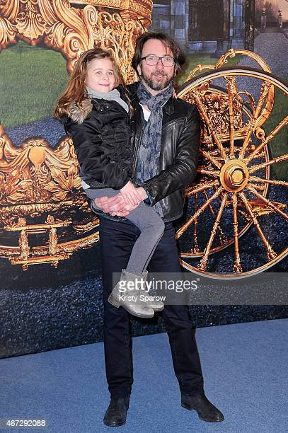 Alex Jaffray attends the Cinderella Paris Premiere at Le Grand Rex on March 22 2015 in Paris France
