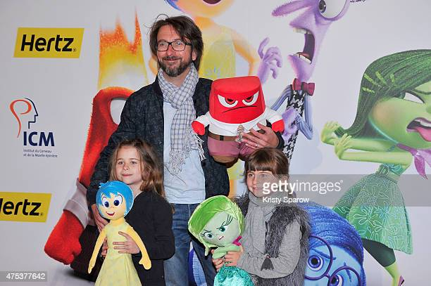 Alex Jaffray attends the 'Inside Out Vice Versa' Paris Premiere at Le Grand Rex on May 31 2015 in Paris France
