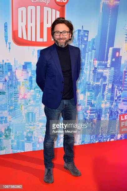 Alex Jaffray attends the 'Ralph 20' French Premiere on January 21 2019 in Paris France