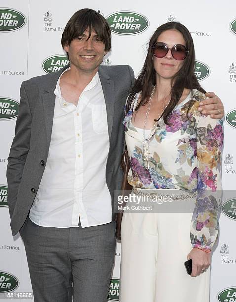 Alex James And Claire Neate Arriving At The Royal Ballet School In London For The Launch Of The New Range Rover