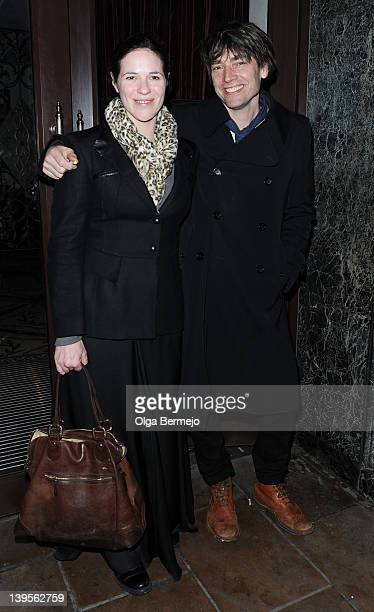 Alex James and Claire Neate sighting on February 22 2012 in London England