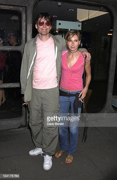 Alex James And Girlfriend The Long Awaited Exhibition From Young Artist Sam Taylor Wood Was At The Hayward Galleries And The Party Which Was At...