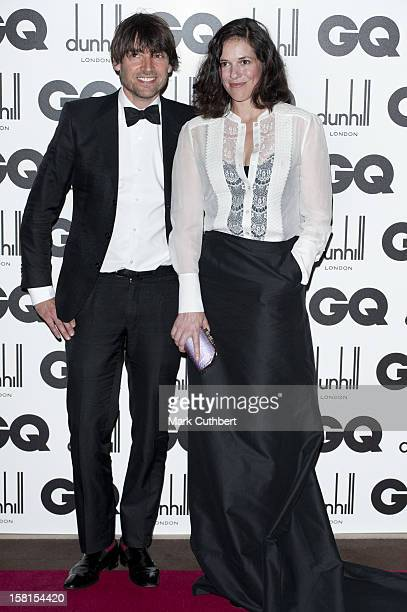 Alex James And Wife Claire Neate At The 2011 Gq Men Of The Year Awards At The Royal Opera House Covent Garden London