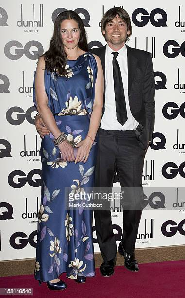 Alex James And Wife Claire Neate At The 2012 Gq Men Of The Year Awards At The Royal Opera House Bow Street London