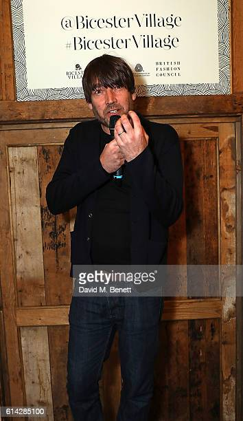 Alex James attends the Bicester Village British Wool Collective on October 13 2016 in Bicester England