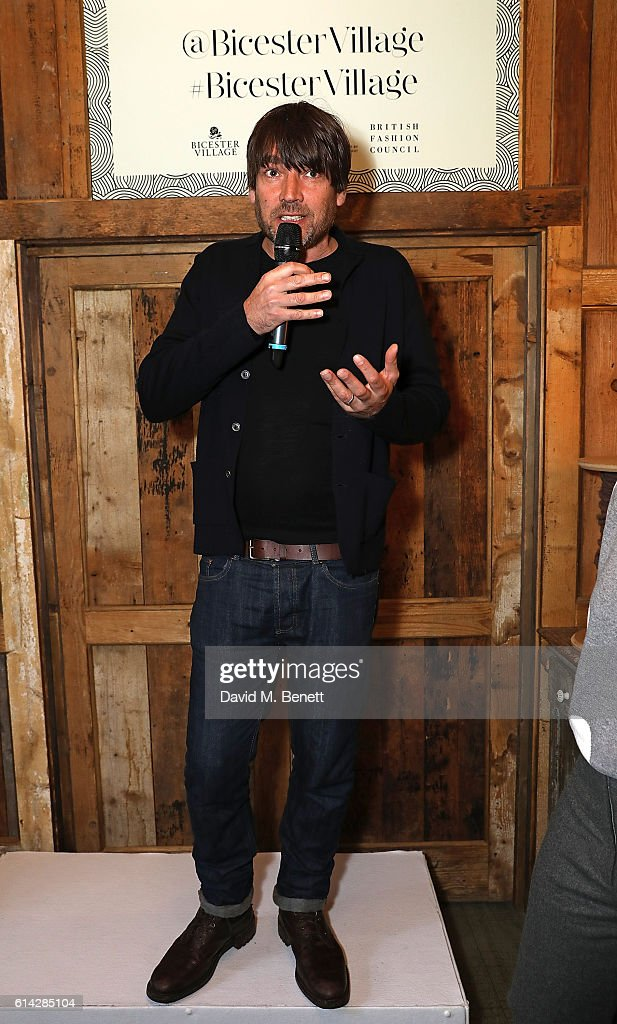 Alex James attends the Bicester Village British Wool Collective on October 13, 2016 in Bicester, England.
