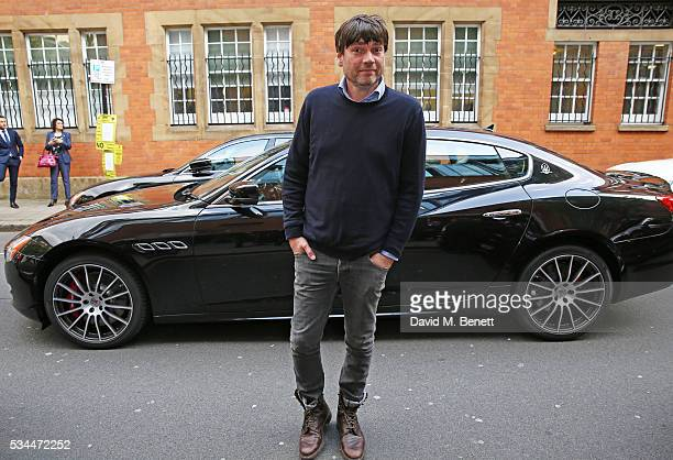 Alex James attends the UK VIP reveal of the Maserati Levante SUV at The Royal Horticultural Halls on May 26 2016 in London England