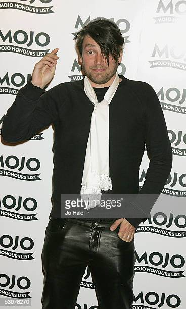 Alex James of Blur arrives at The MOJO Honours List 2005 the music magazine's second annual awards at Porchester Hall on June 16 2005 in London...