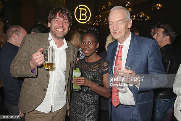 Alex James Precious Lunga and Jon Snow attend a party hosted by Instagram's Kevin Systrom and Jamie Oliver This is their second annual private party...