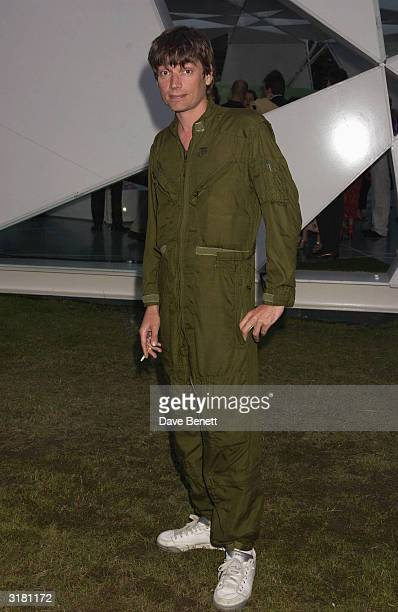 Alex James the Bass Guitar player from Blur at the Serpentine Gallery Summer Party held at the Serpentine GalleryLondonEngland on the 10th of July...