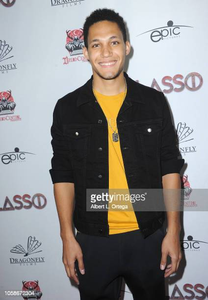 Alex Jamez arrives for Dread Central Presents The Premiere Of 'Lasso' held at TCL Chinese 6 Theatres on November 6 2018 in Hollywood California